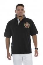 Big Crest Polo Black