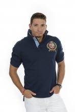 Big Crest Polo Navy