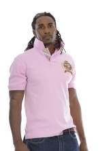 Big Crest Polo Pink