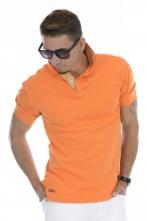 Modern-Fit Polo Orange